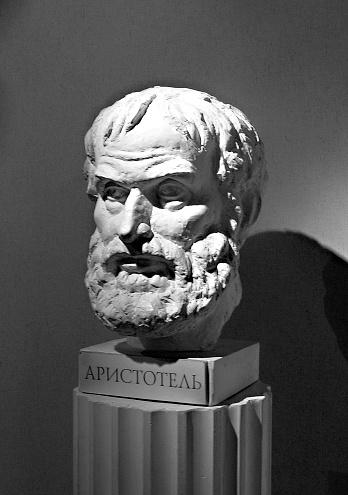 """Aristoteles: """"Wer Sicherheit der Freiheit vorzieht, bleibt zu Recht ein Sklave."""""""