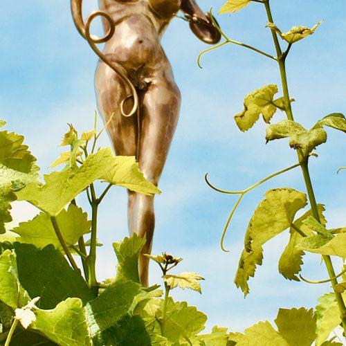 Hölderlin und der Wein, Weißrießling und Weinraub